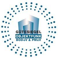 Gütesiegel für Objektfunk-Errichter der BODeV & PMeV